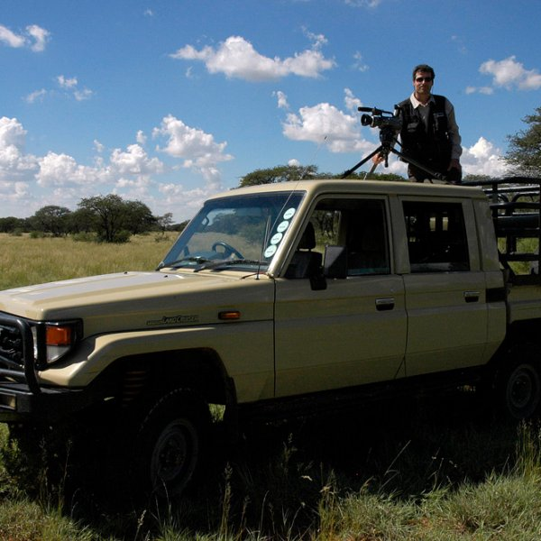Grabando animales en Sudáfrica, cerca del Kruger National Park